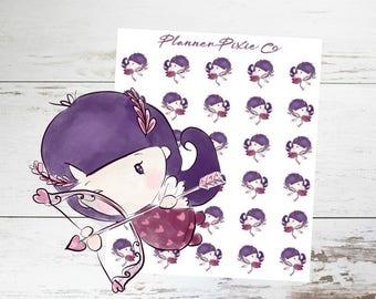 Planner Girl Stickers // Valentine's Day // 019