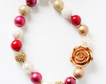 Sunset Bubblegum Necklace