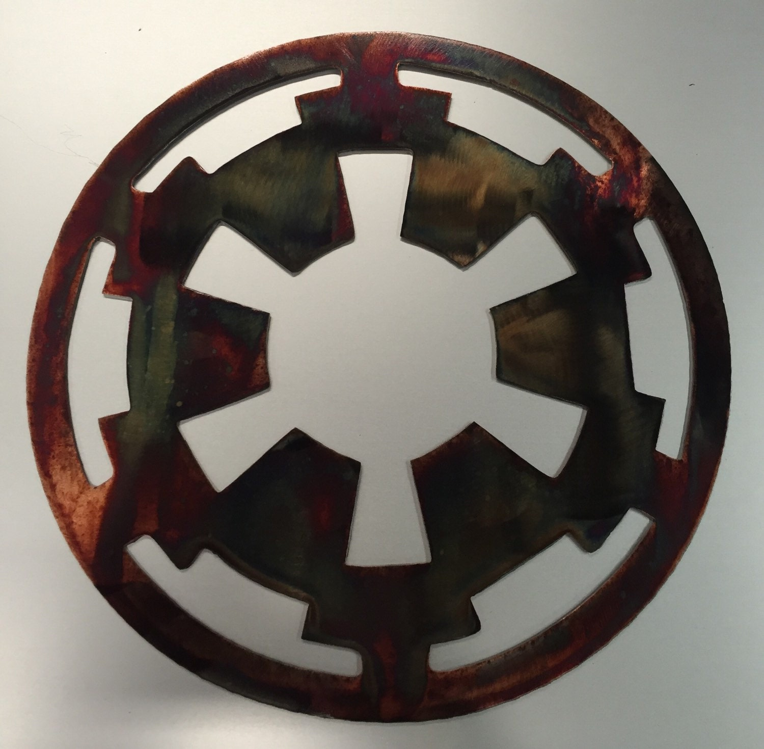Star wars metal wall art movie imperial symbol sign decor zoom biocorpaavc Image collections