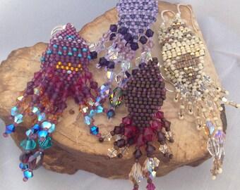 BED17.024-027 | Bedowin Beaded Earrings - Lace Line