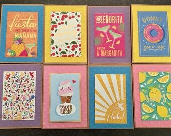 24 Summer Funny Fiesta Fun card set