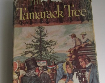 SALE 1947 The Tamarack Tree Howard Breslin 1st edition Book Art Deco Coffee Table Decor Stratton Mountain NH Daniel Webster