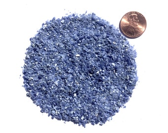 Crushed Sodalite Stone Inlay, Medium, 1/2 Ounce