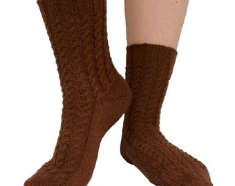 Real Ale Socks - PDF knitting pattern