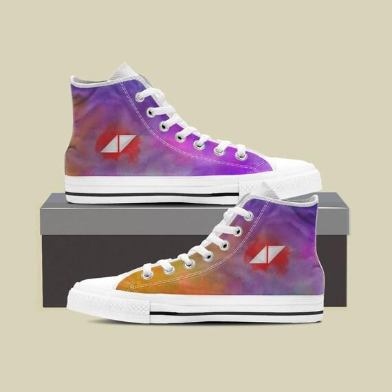 EDM High Avicii Rip Sneaker Shoes Avicii Avicii Shoes Avicii Converse Music Custom Shoes Custom Custom Timbergling Top Avicii 8xv6Aw