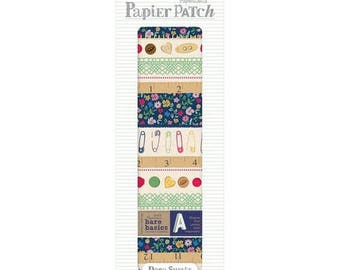 3 sheets paper decopatch 26 x 37.5 cm PAPERMANIA HABERDASHERY