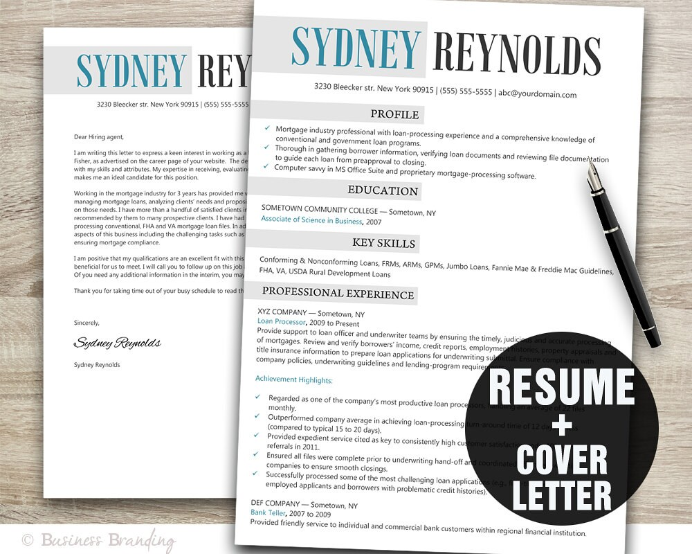 Resume Download Resume Template Resume Cover Letter