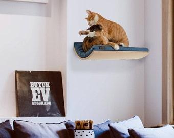 Cats Shelves * Cat Bed * Pet Supplies * Cat Shelf * Wall Bed * Wave