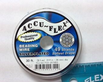 Accuse-Flex Beading Wire Gold