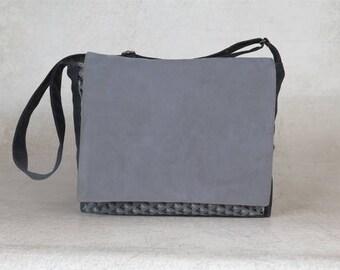 vegan messenger bag, vegan leather bag, satchel bag, crossbody bags, cross body messenger bag, birthday gift for him, birthday gift for men