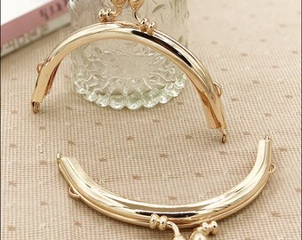 10.5cm purse frame,purse clasp clutch frame metal purse frame purse making supplies wholesale,2pcs(hw)