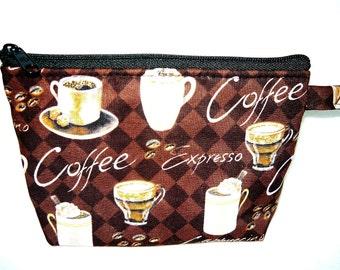 Coffee Lover Makeup Bag