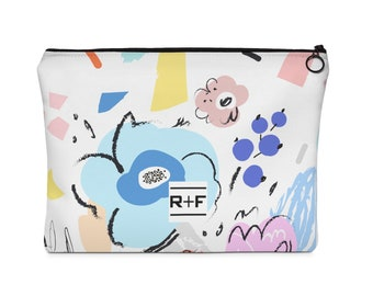 RF Blossom Carry All Pouch  Flat