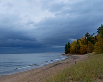 Storm Clouds on Lake Superior
