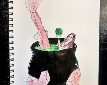 Mermaid in a Cauldron
