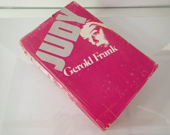 JUDY [Garland] / First Edition Biography by Gerold Frank - Photos 1975