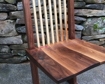 George Nakashima inspired Conoid Chair