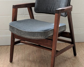 Vintage Gunlocke Chair – Mid Century Modern Gunlocke Chair – Vintage Club Chair – Modern Accent Chair