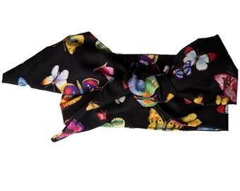 butterfly headwrap headband