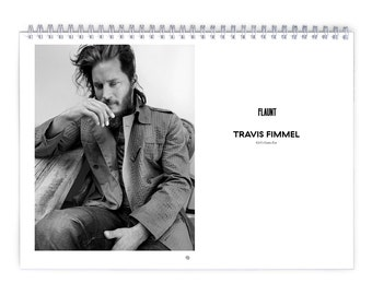 Travis Fimmel Vol.1 - 2018 Calendar