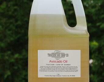 Avocado oil. 7pounds, Soap making, lotion, creams, massage oil, bath, beauty, lip balm
