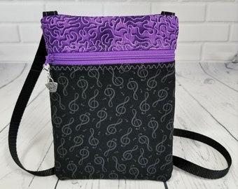 Cellphone bag small crossbody bag Small fabric bag Smartphone pouch Crossbody phone bag Small crossbody tote Small fabric pouch Small purse