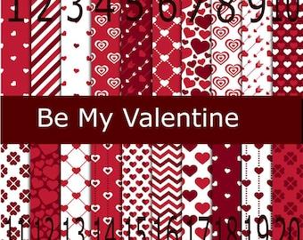 Printed Vinyl, Be My Valentine, Pattern Vinyl, Adhesive Outdoor 651 Vinyl, HTV, Heat Transfer Vinyl, Iron On, Design Vinyl, Valentine, Heart