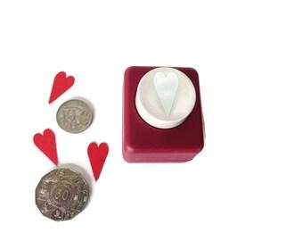 Medium Modern Heart Emagination Punch for Card Making & Scrapbooking