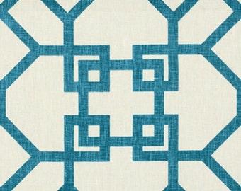 Xu Garden Aquatik-Designer Decorative Pillow Cover-Windsor Smith for Kravet-Double Sided