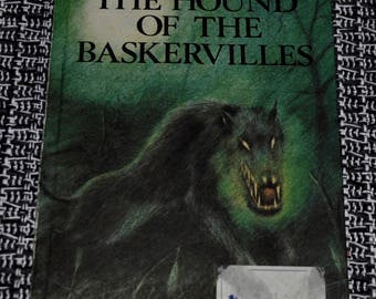 1st Edition The Hound Of The Baskervilles, Ladybird Children's Classic.