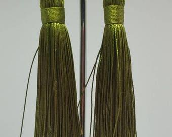 Earring Green Dangle Earrings