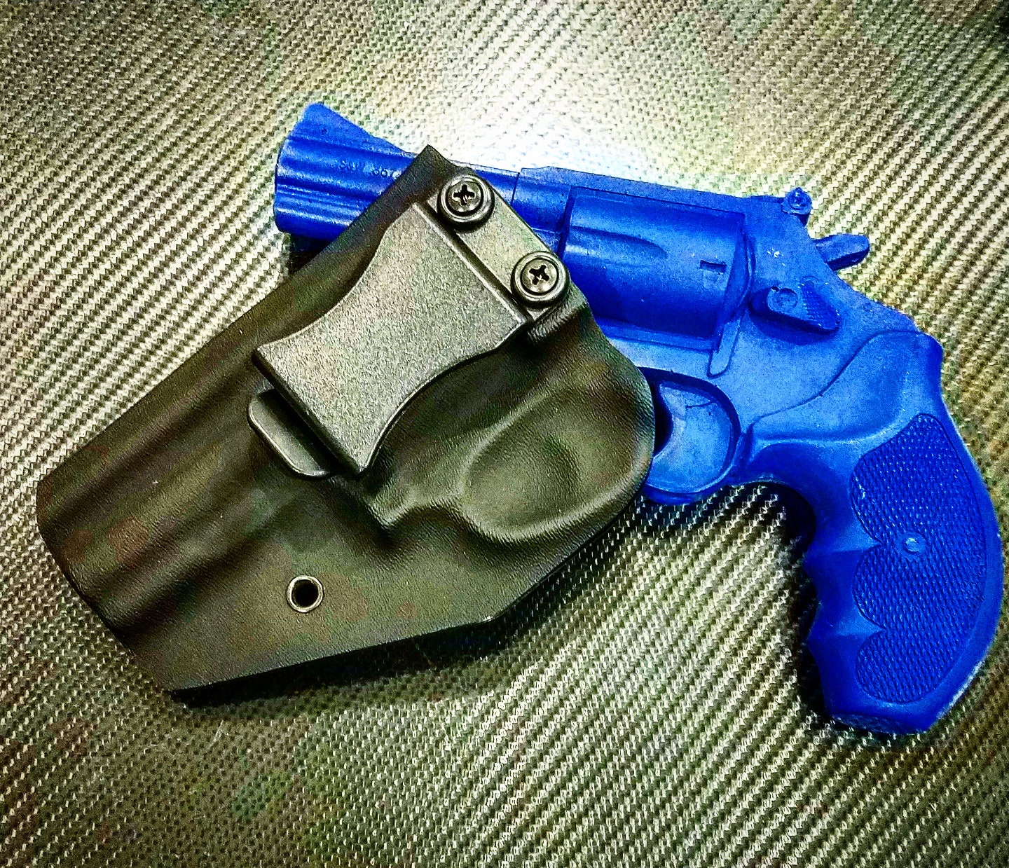 Smith & Wesson Modell 60.357 Magnum Revolver Kydex Holster