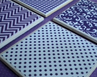 Relay For Life Tile Coasters (Set of 4)