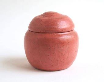 """Coral Baby Urn - 3.25"""" - infant urn, keepsake urn, small pet urn"""