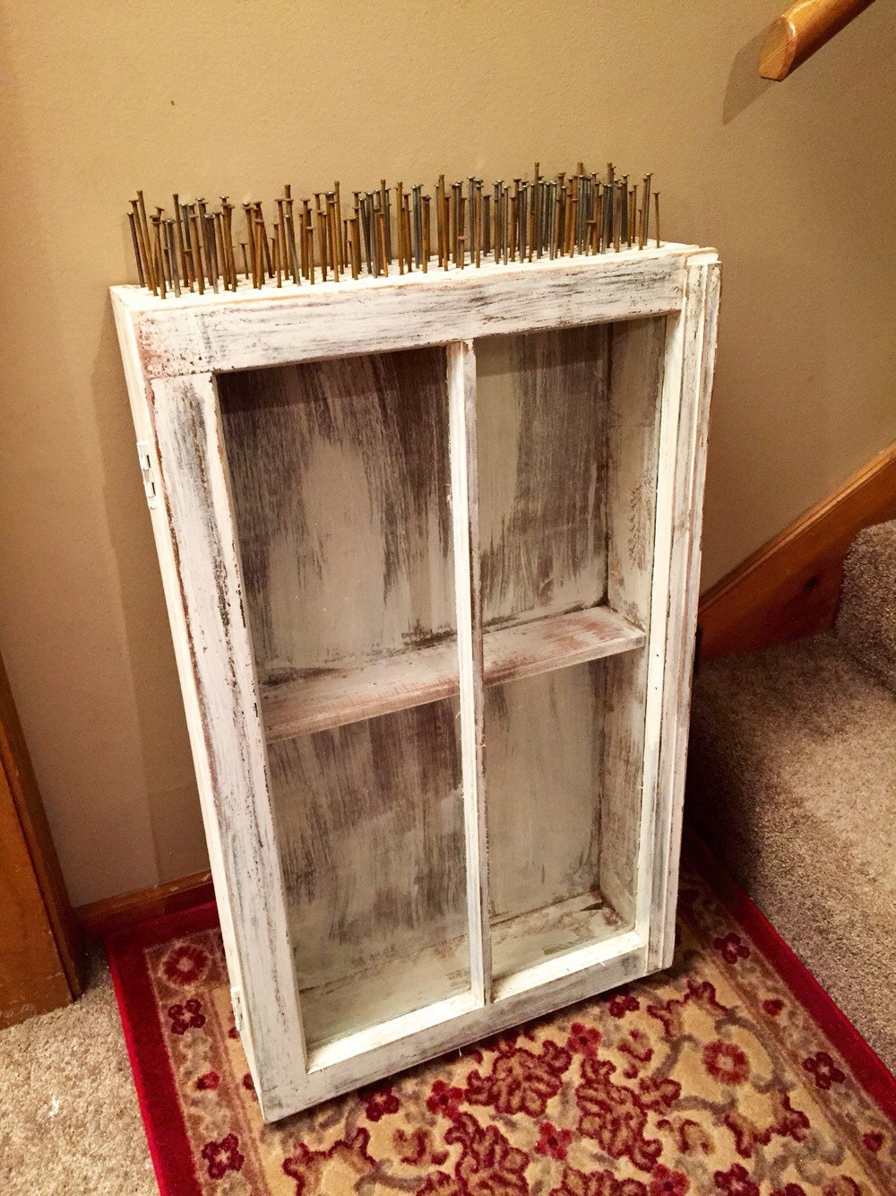 diy a create from cabinet antique mirror chic medicine scavenger