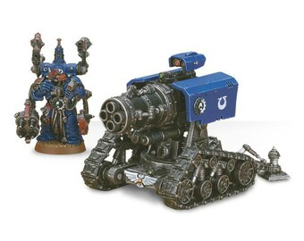 Thunderfire Cannon with Techmarine Warhammer 40000  wargame