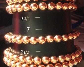 Copper Bracelets, I just dropped the price!