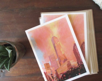 Cards: Freedom Tower (Set of 5)