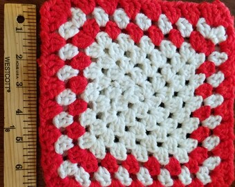 Hot pads, crocheted
