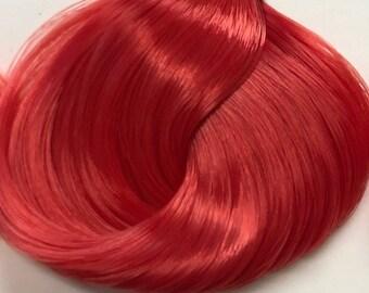 Nylon Doll Hair, Deluxe OOAK, Firebird Tress, Rerooting