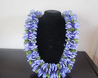 Floss Flower Lei