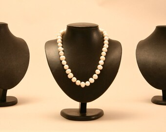 Leatherette Jewelry Display Busts