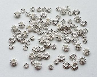 Extra Small Spacer Beads - 90 pc.