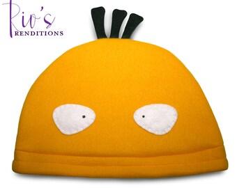 Pokemon Psyduck Hat / Fleece Hat / Winter Hat / Pokemon Hat / Pokemon Fleece Hat / Video Game Characters