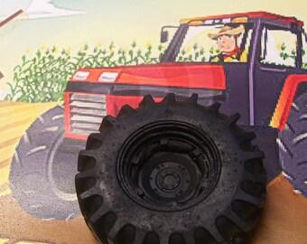 Tire Soap, Novelty Soap, Tractor Tire, Monster Truck Tire, Bath Soap, You pick scent & color