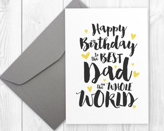 Massif image pertaining to happy birthday dad cards printable