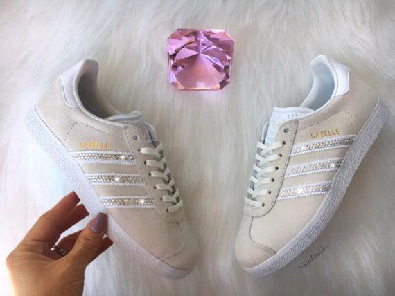 Women's Adidas Originals Gazelle with Swarovski Crystals