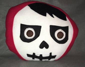 Coco Insipired Miguel Pillow Plush Skull