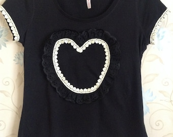 Womens t shirt size 14 upcycled