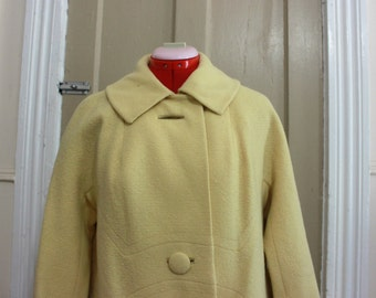 50s Joseph Stein Overcoat Size L
